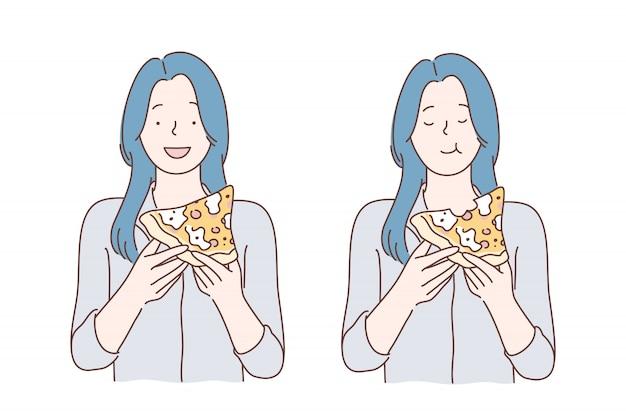 Pranzo, fast food, fame