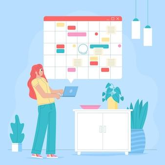 Prenotazione di appuntamenti con calendario