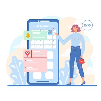 Prenotazione di appuntamenti sul cellulare