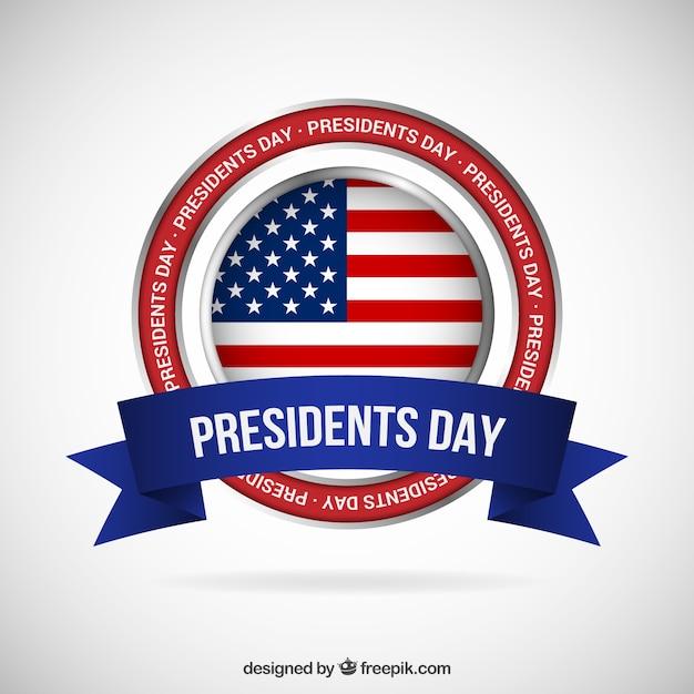 Presidents day banner