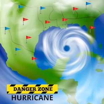 Previsioni meteorologiche pericolose