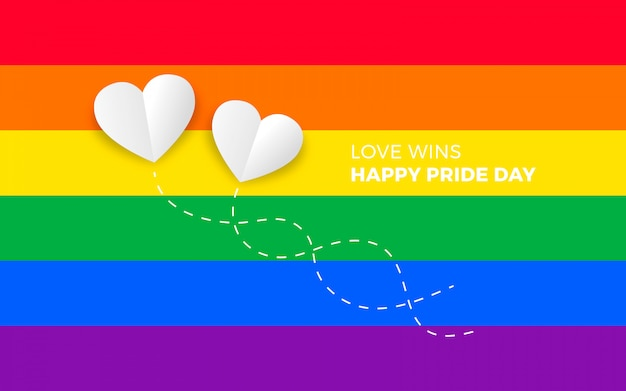 Pride day background