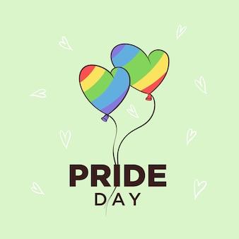 Pride day baloon design