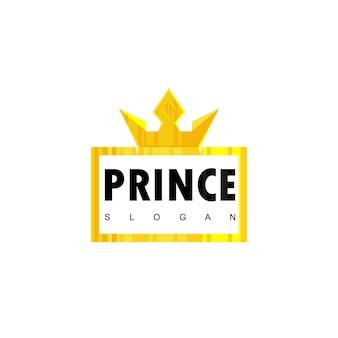 Prince typography emblem