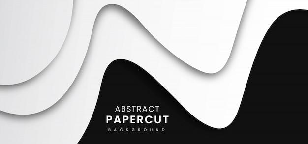 Priorità bassa alla moda astratta del taglio della carta