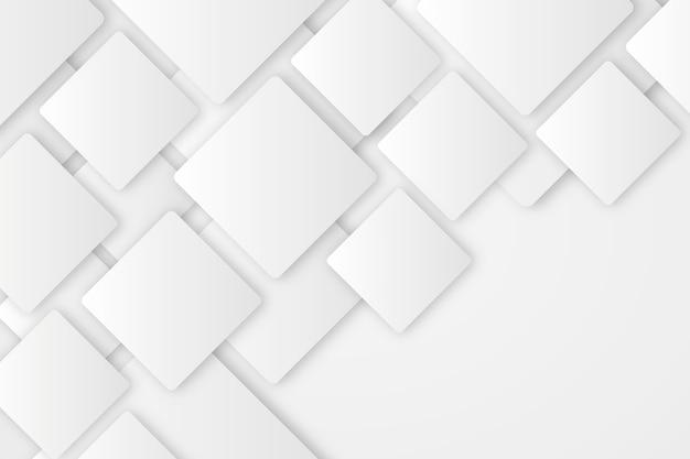 Priorità bassa astratta bianca nello stile del documento 3d