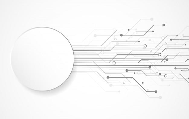 Priorità bassa astratta con struttura del circuito di tecnologia