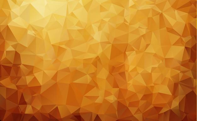 Priorità bassa astratta del mosaico del triangolo di colore marrone scuro.