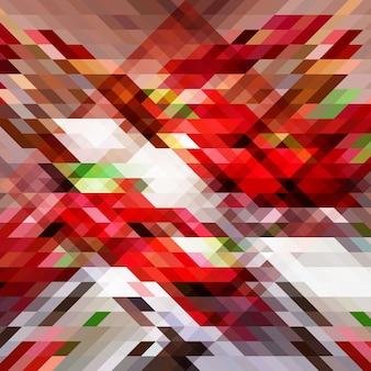 Priorità bassa astratta del triangolo geometrico