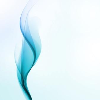 Priorità bassa astratta dell'acqua, illustrazione dell'onda, concetto di arte