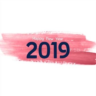 Priorità bassa astratta di celebrazione di nuovo anno 2019
