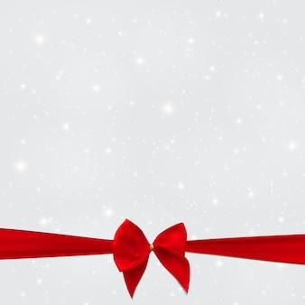 Priorità bassa astratta di natale e di nuovo anno di bellezza con neve, sno