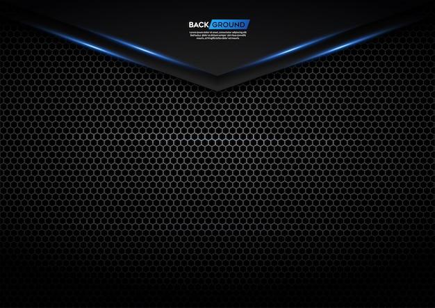 Priorità bassa astratta moderna 3d con blu-chiaro