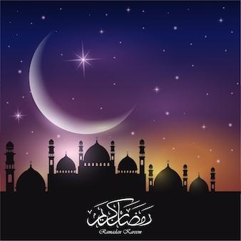 Priorità bassa astratta per il ramadan kareem