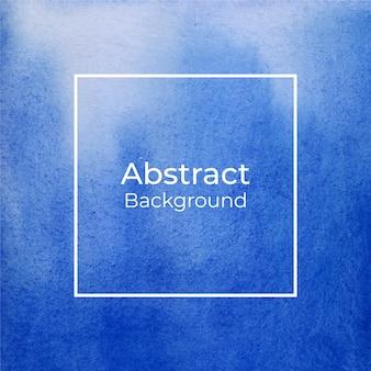 Priorità bassa blu astratta di struttura dell'acquerello