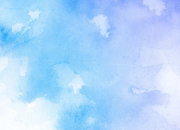 Priorità bassa blu dell'estratto di struttura dell'acquerello