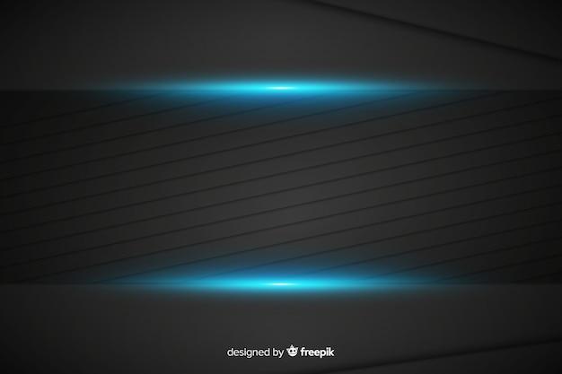 Priorità bassa blu metallica astratta di struttura
