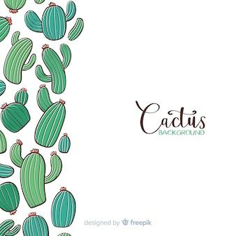Priorità bassa del cactus del fumetto