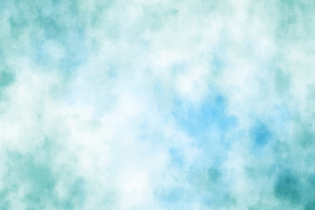 Priorità bassa del colpo della spazzola del grunge dell'acquerello di verde blu