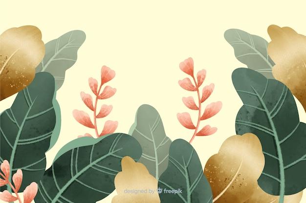 Priorità bassa del giardino dell'annata disegnata a mano