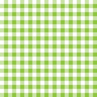 Priorità bassa del modello con il disegno verde plaid controllato