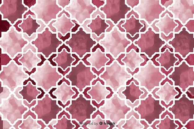 Priorità bassa dell'acquerello nella progettazione del mosaico