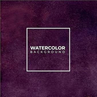 Priorità bassa dell'acquerello viola scuro astratta. il colore schizza sulla carta.