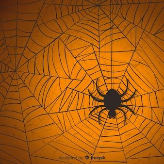 Priorità bassa della ragnatela di halloween