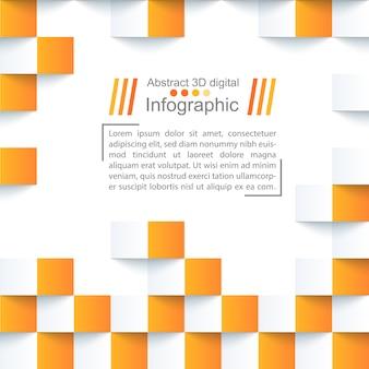 Priorità bassa di carta di abstrack - modello di origami.