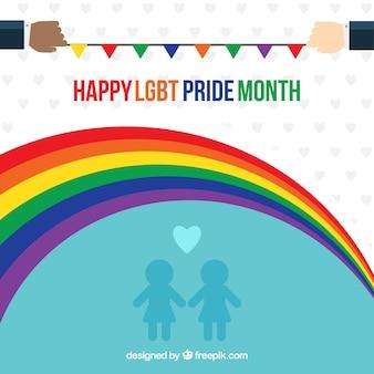 Priorità bassa di celebrazione del giorno di orgoglio