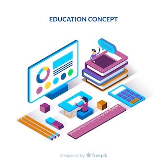 Priorità bassa di concetto di educazione isometrica