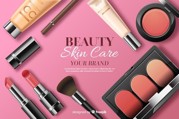 Priorità bassa di cura della pelle di bellezza