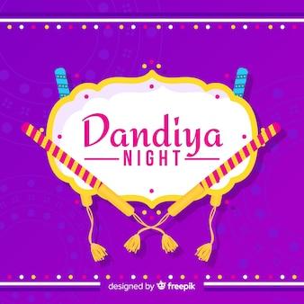 Priorità bassa di dandiya dei bastoni a strisce