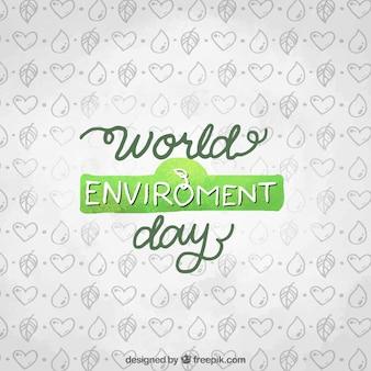 Priorità bassa di giorno ambientale con disegni
