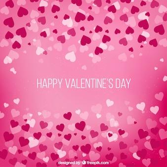 Priorità bassa di giorno di san valentino con il cuore