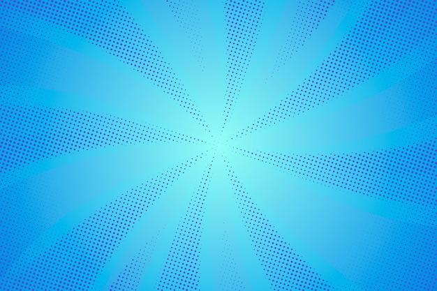 Priorità bassa di semitono blu astratta