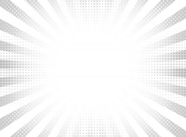 Priorità bassa di semitono grigio astratto raggi cerchio.