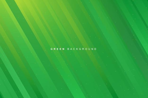 Priorità bassa di struttura di strisce gradiente verde vibrante moderno dinamico astratto