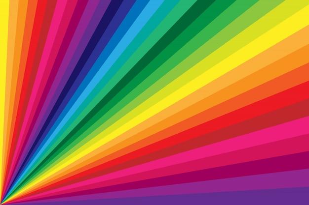 Priorità bassa di torsione della banda colorata arcobaleno