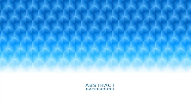 Priorità bassa esagonale blu astratta del reticolo