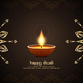 Priorità bassa felice religiosa astratta di diwali