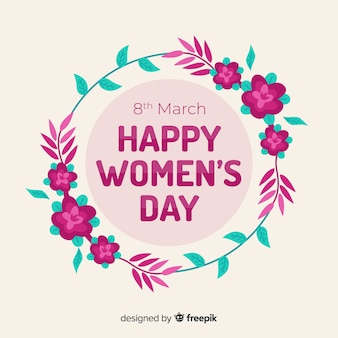 Priorità bassa floreale di giorno delle donne