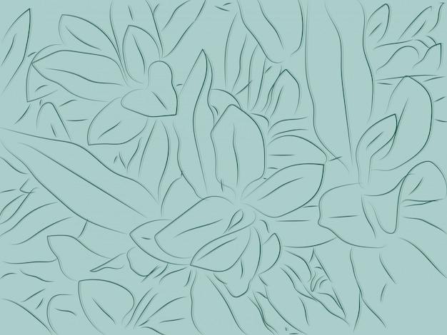 Priorità bassa floreale tropicale del reticolo