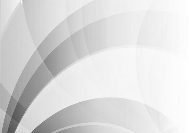 Priorità bassa geometrica di colore bianco e grigio dell'onda astratta