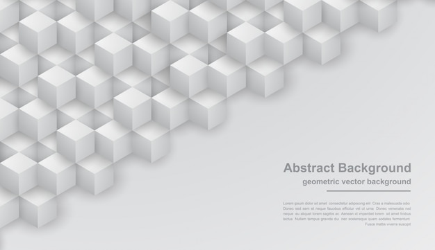 Priorità bassa grigia astratta di struttura con le forme di esagono.