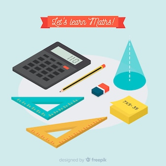 Priorità bassa materiale di matematica isometrica
