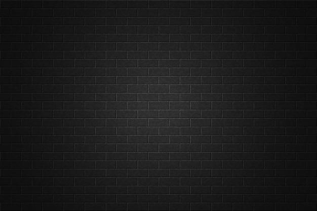 Priorità bassa nera del muro di mattoni