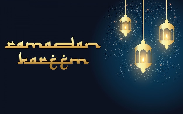 Priorità bassa religiosa astratta di ramadan kareem