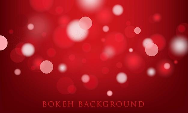 Priorità bassa rossa del bokeh, struttura astratta e leggera