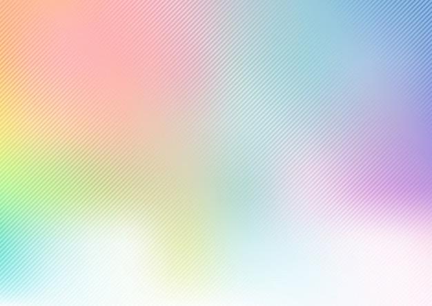 Priorità bassa vaga pastello arcobaleno astratto